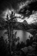 Storm Above Rae Lakes