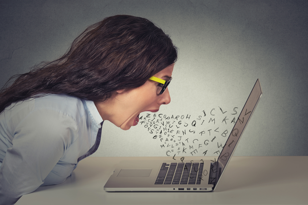 Angry on Social Media