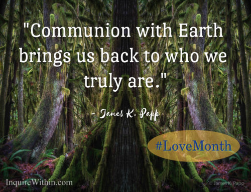 Love for the Earth (and the Cosmos)